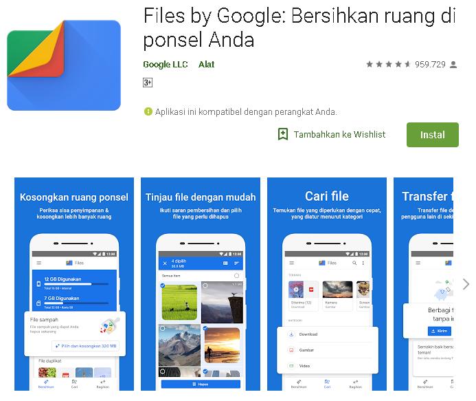 Menambah Saldo Google Play 600 Ribu Secara Gratis Dari Aplikasi Files By Google Kumpulan Remaja
