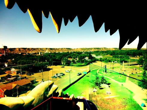 Drumheller Giant Dinosaur Alberta