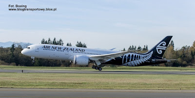 Boeing 787-9 Dreamliner, ZK-NZG, Air New Zealand