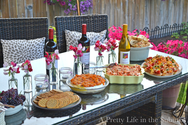 summer dinner parties