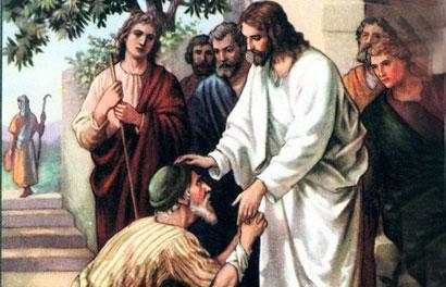 Resultado de imagem para JESUS CURA UM LEPROSO