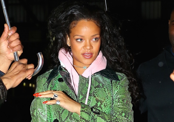 2017-01-10 リアーナ(Rihanna)ニューヨークにて。