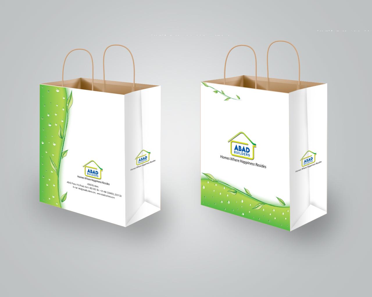 Arun.B.Nair: paper bag design