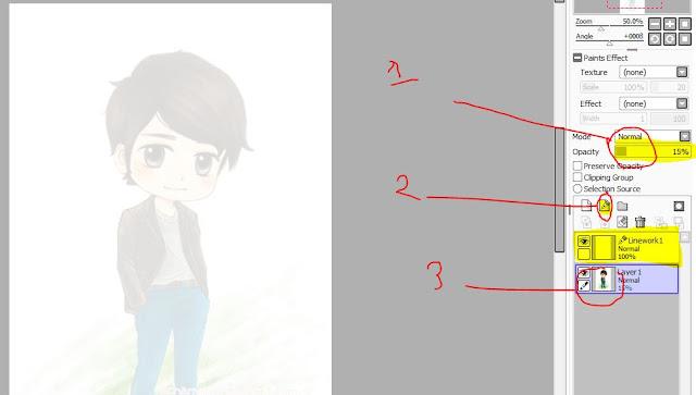 Cara Mudah Membuat Sketsa Di Paint Tool Sai Untuk Pemula