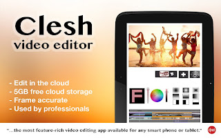 Aplikasi edit video android clesh video editor