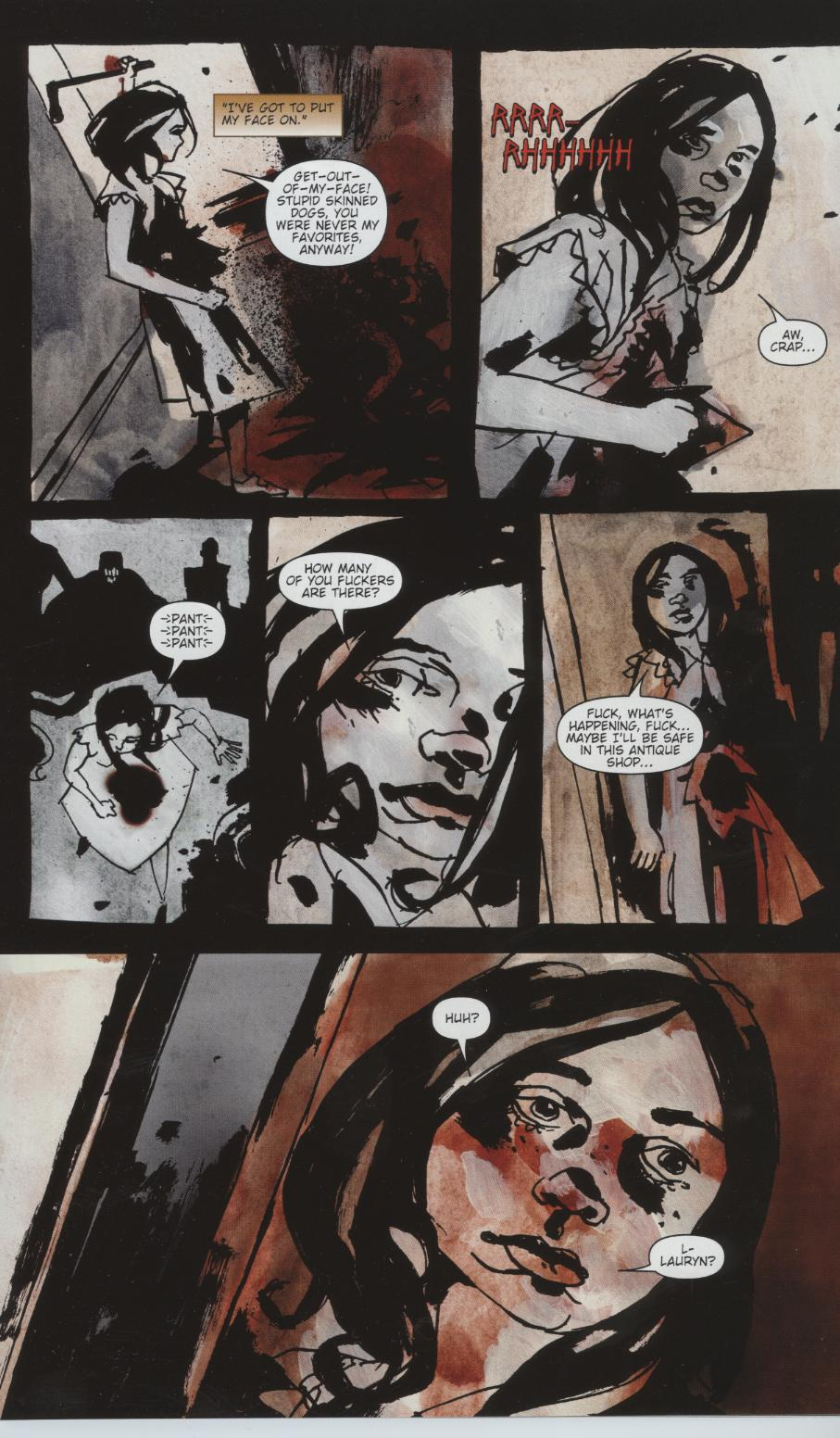 Read online Silent Hill: Dead/Alive comic -  Issue #1 - 17