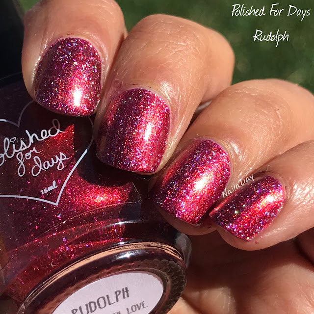 NailaDay: Polished For Days Rudolph