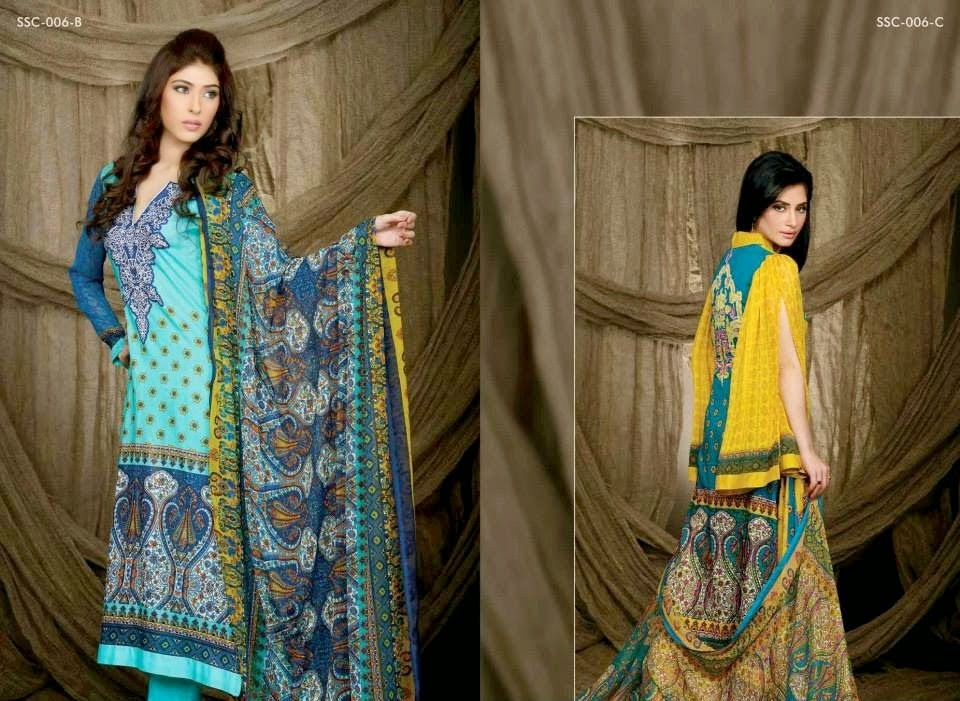 Sana and Samia Exclusive Winter Collection 2014-2015 fashionwearstyle.com