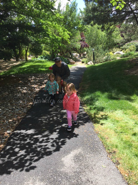 toddler fun on walks