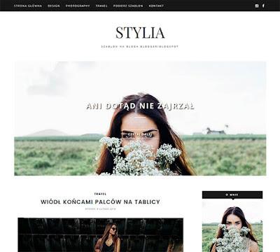 STYLIA: szablon bloga blogger/blogspot