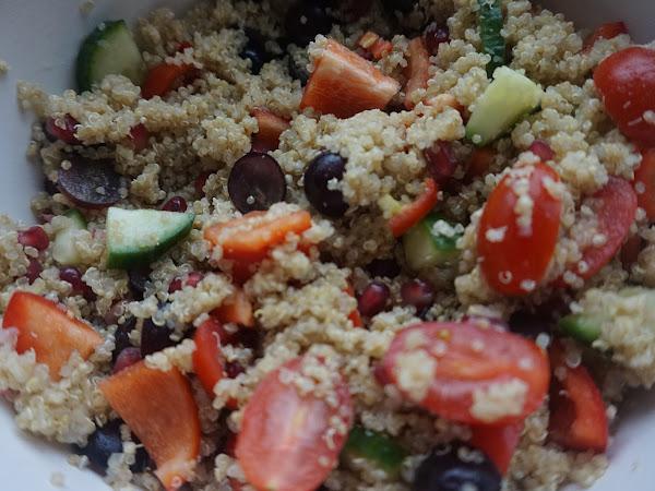 Sweet and Spicy Quinoa Salad Recipe