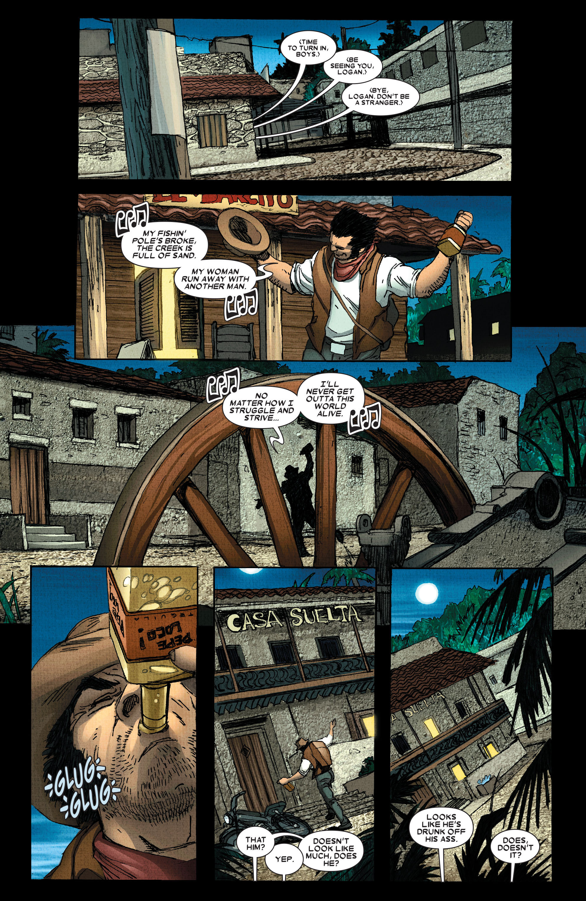 Read online Wolverine: Weapon X comic -  Issue #2 - 9