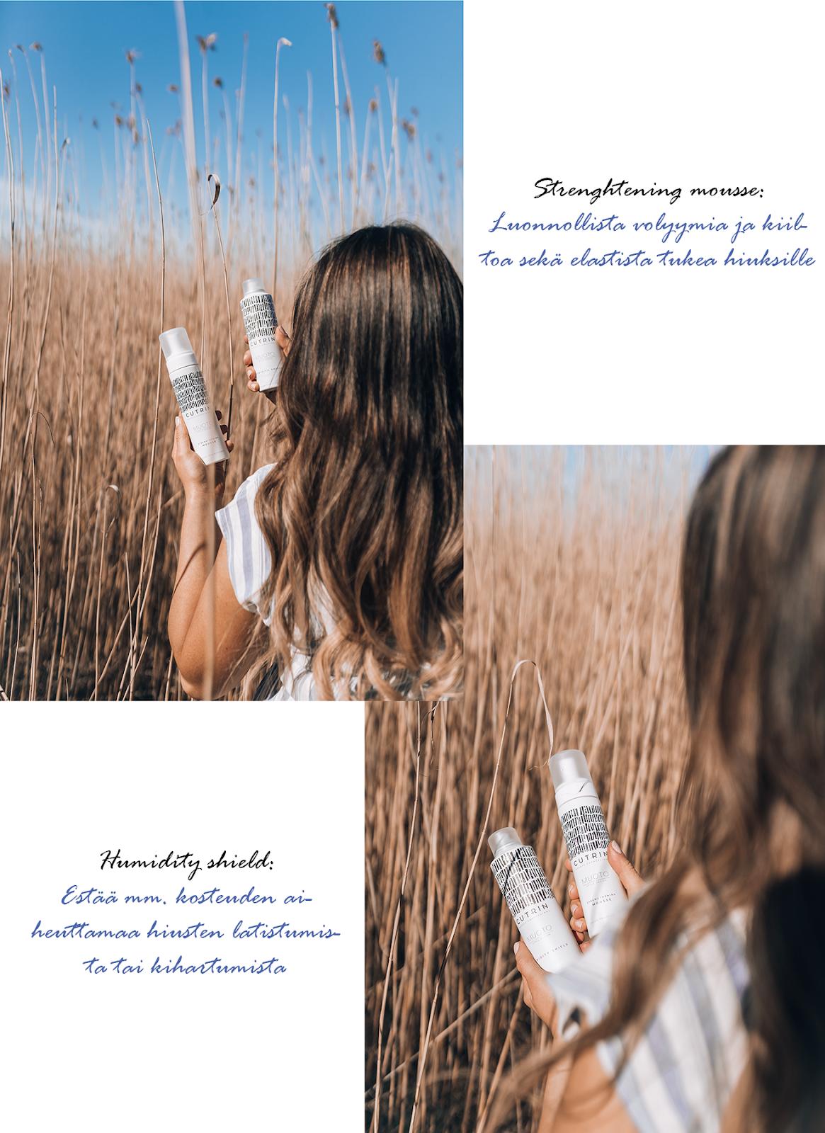 tuotteet hennoille hiuksille