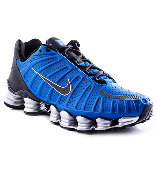 competitive price d35e5 dd924 Men s Nike Shox TLX - Blue - Hook of the Day ...