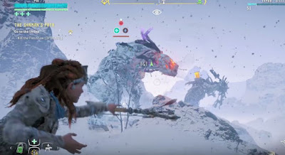 The Frozen Wilds, Horizon Zero Dawn, Defeat Machine, Frostclaw