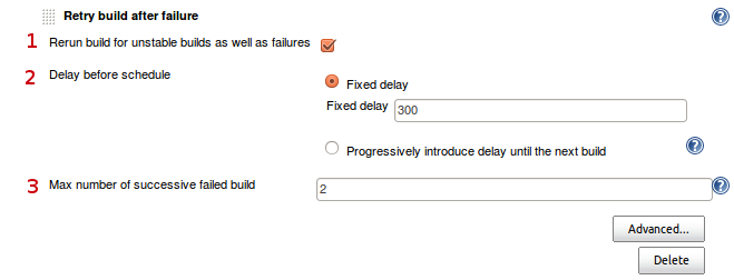 Jenkins] Automatically retry a failed build | Digizol