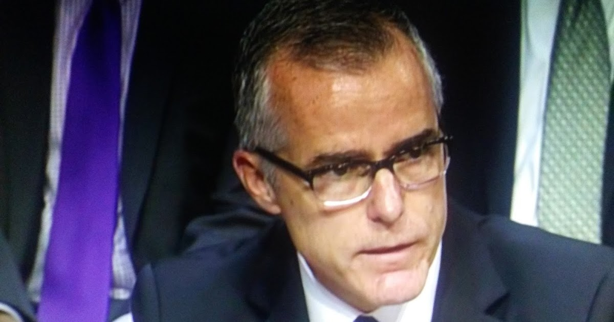 FBI Recommends Firing Andrew McCabe Before He Retires