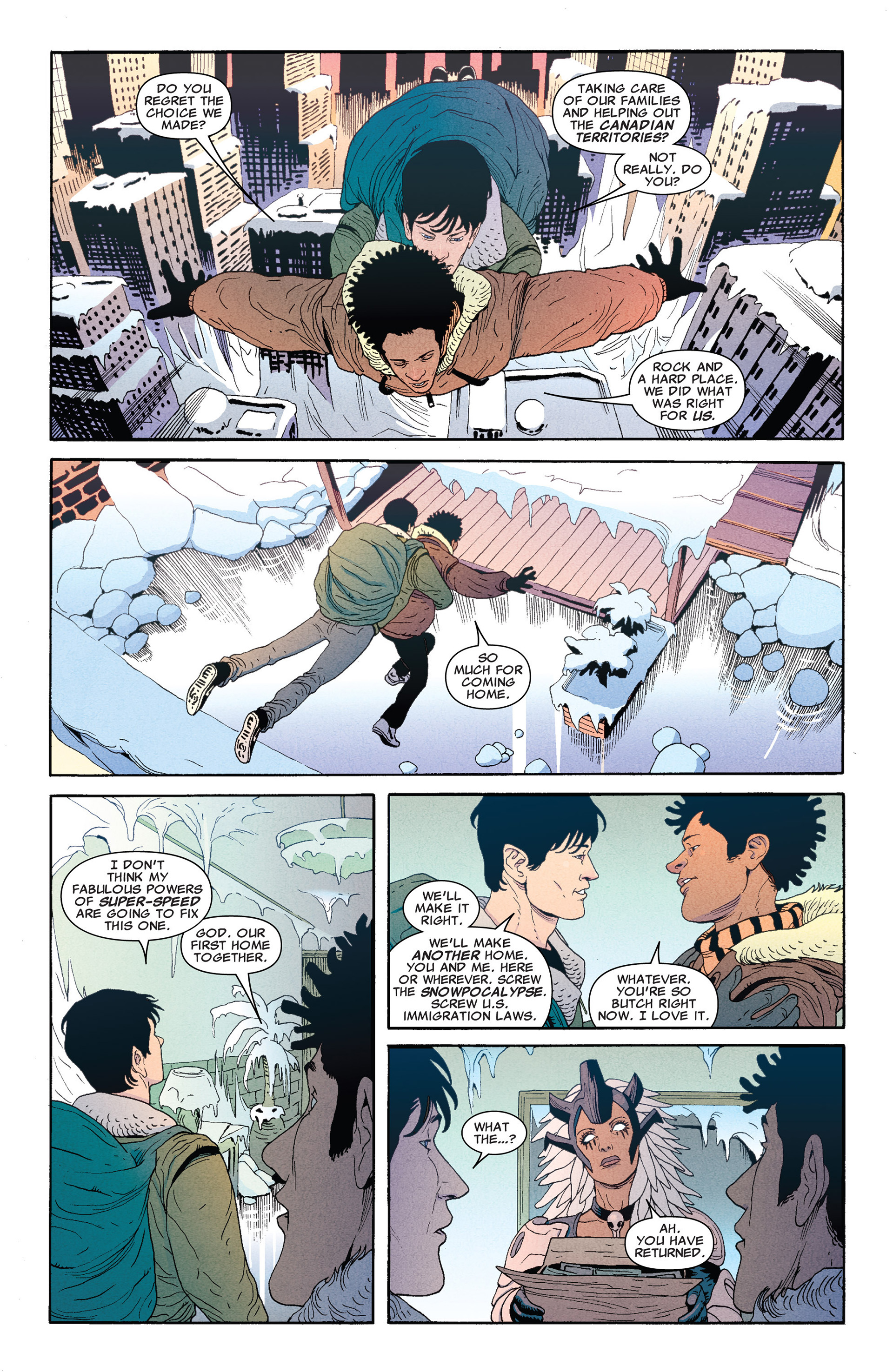Read online Astonishing X-Men (2004) comic -  Issue #66 - 6
