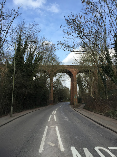 Dollis Brook Viaduct, Mill Hill East, London N7