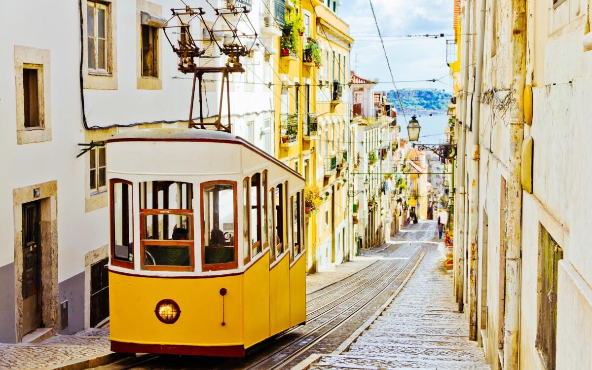Tram 28 Lisbonne/Lisboa
