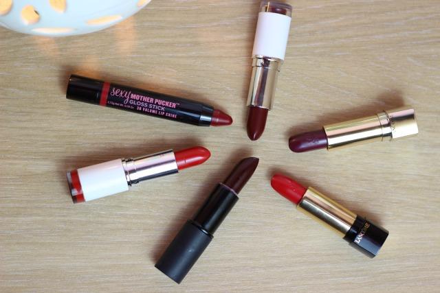 Hidden Beauty: Guest Post - Dark Lip Round Up