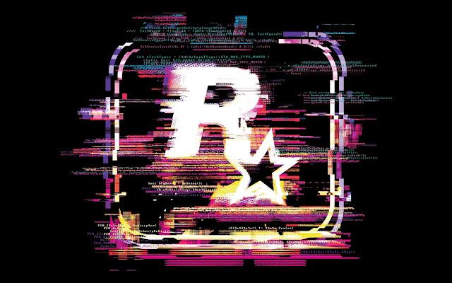 Papel de parede grátis Logo Game Rockstar para PC, Notebook, iPhone, Android e Tablet.