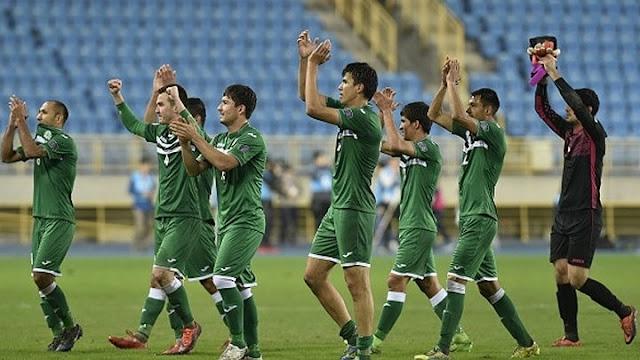 17. Turkmenistan nhì bảng E vòng loại thứ 3.