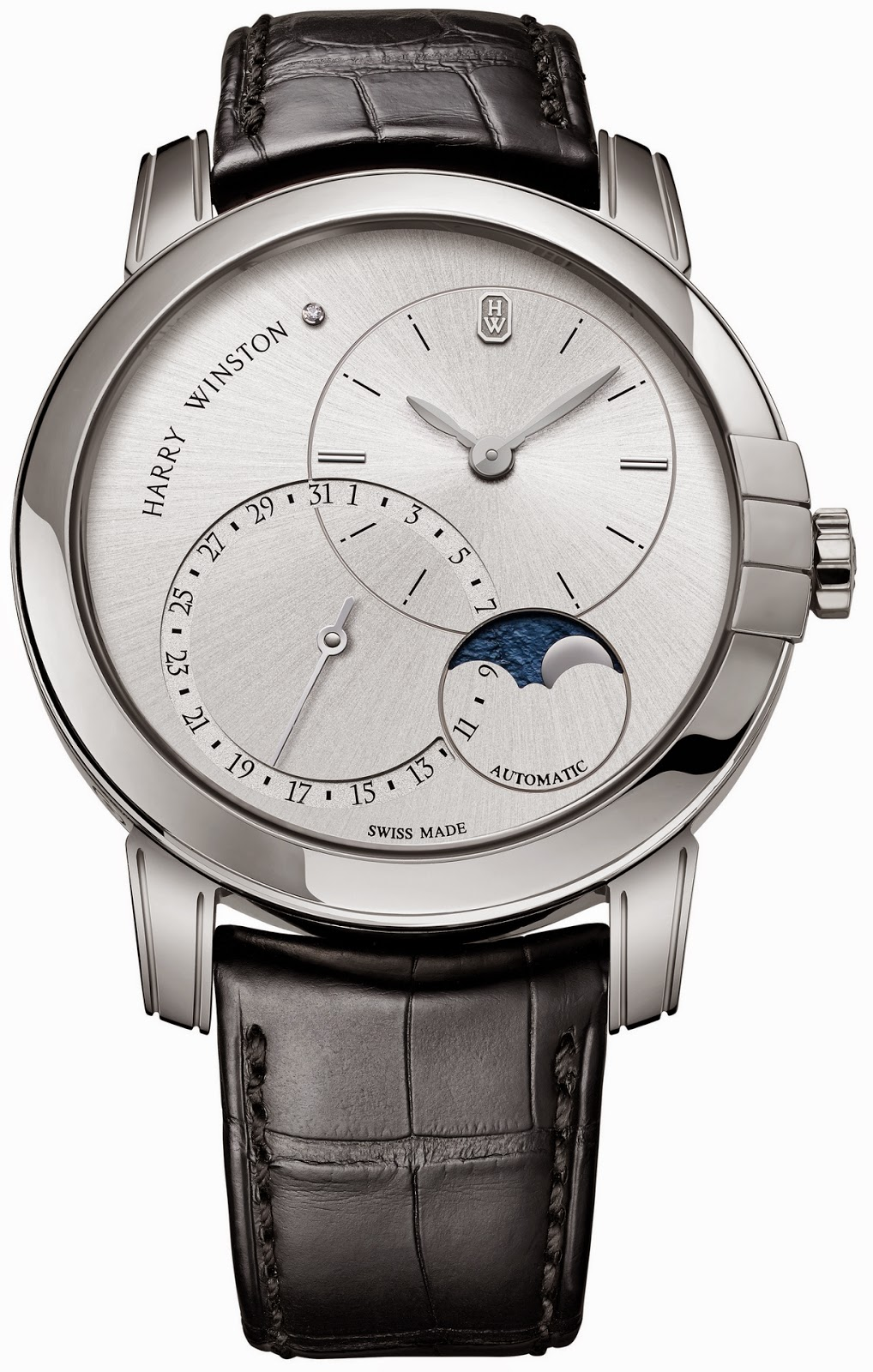 Montre Harry Winston Midnight Date Moonphase Automatic 42mm