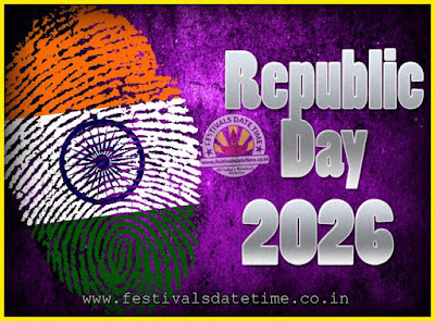 2026 Republic Day of India Date, 2026 Republic Day Calendar