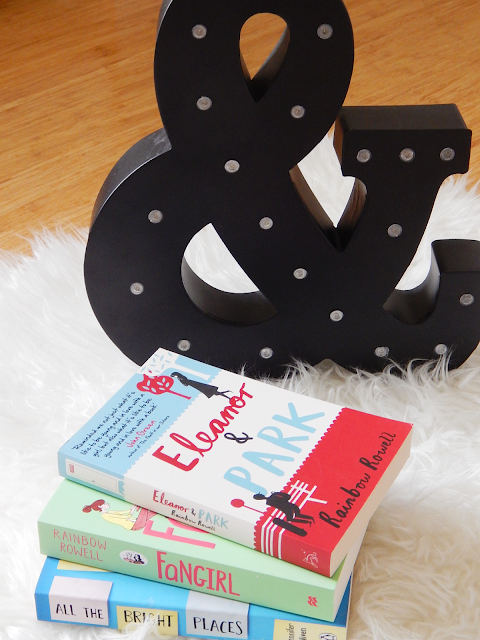 Eleanor And Park, Fangirl, All The Bright Places | empoweredinternetwomen