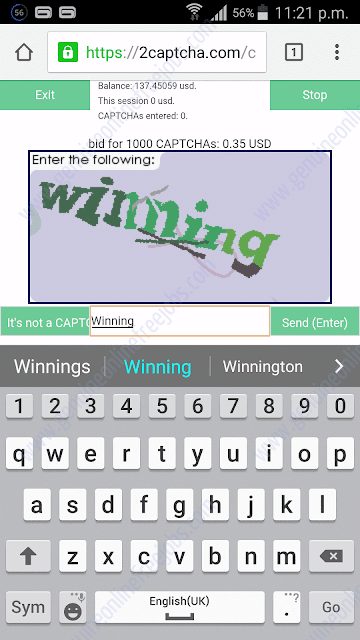 cAsE sensitive captchas