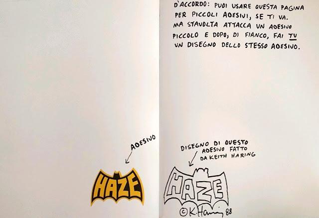 il grande libro delle piccole cose keith haring vitazerotre