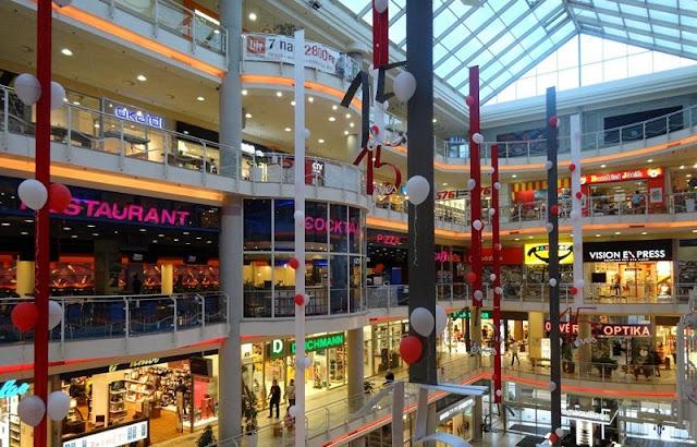 Shoppings em Budapeste