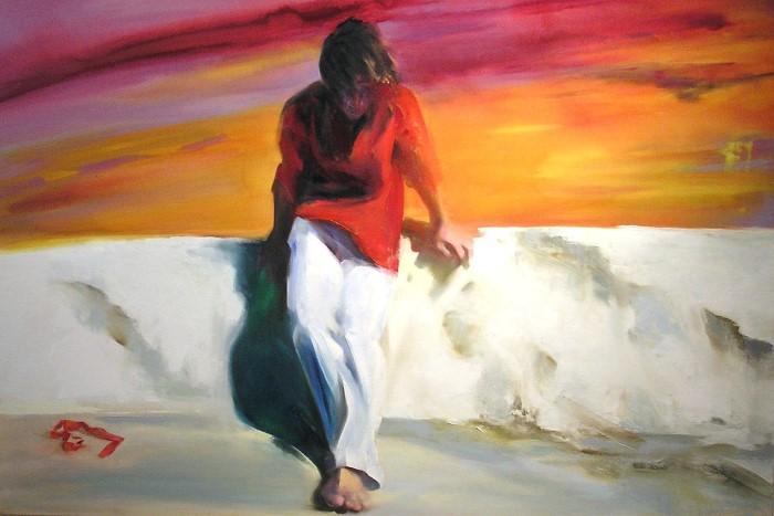 Греческий художник. Maria Xagorari