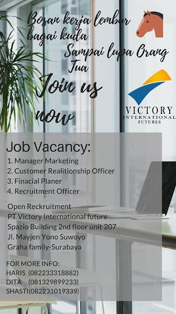 Lowongan Kerja Victory International Futures