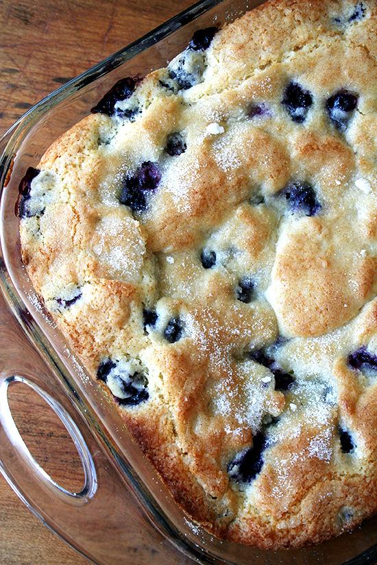 best buttermilk blueberry breakfast cake Recipe