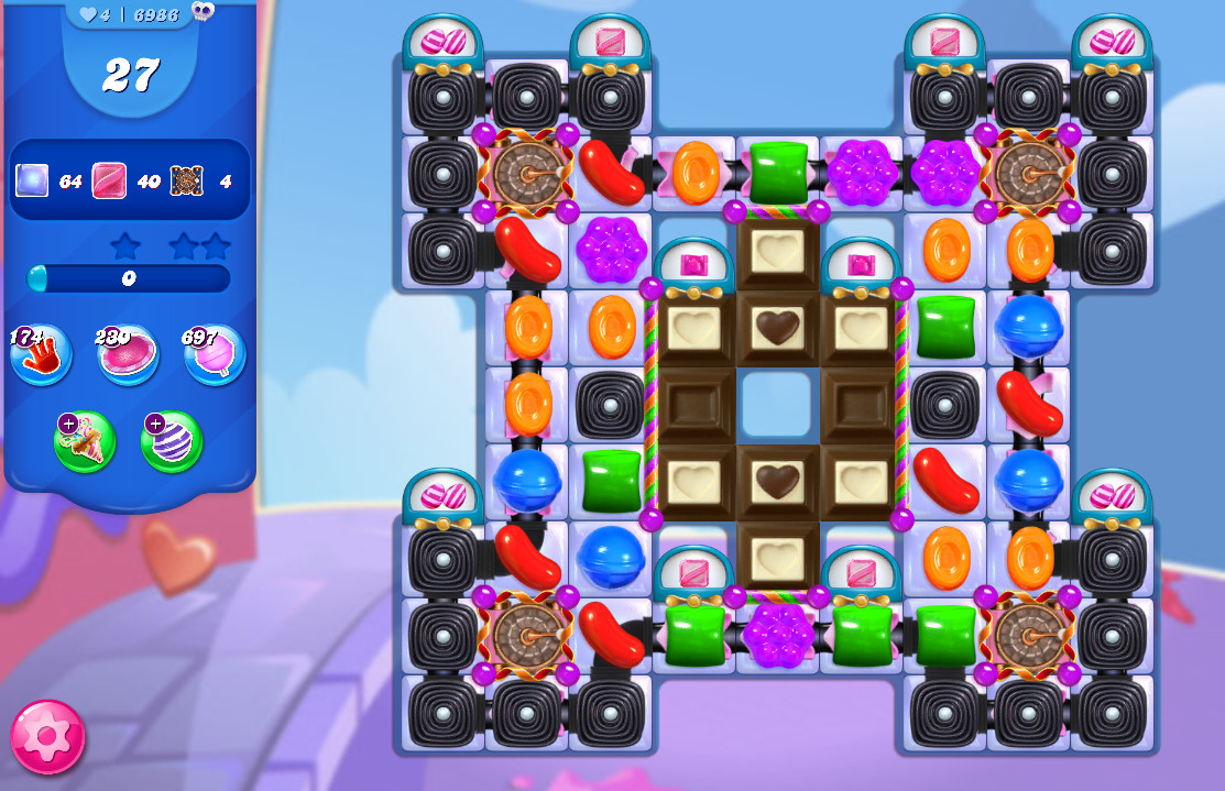 Candy Crush Saga level 6986