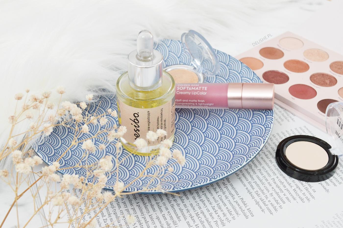 ulubieńcy kosmetyczni resibo, metaliczne cienie, płynne pomadki