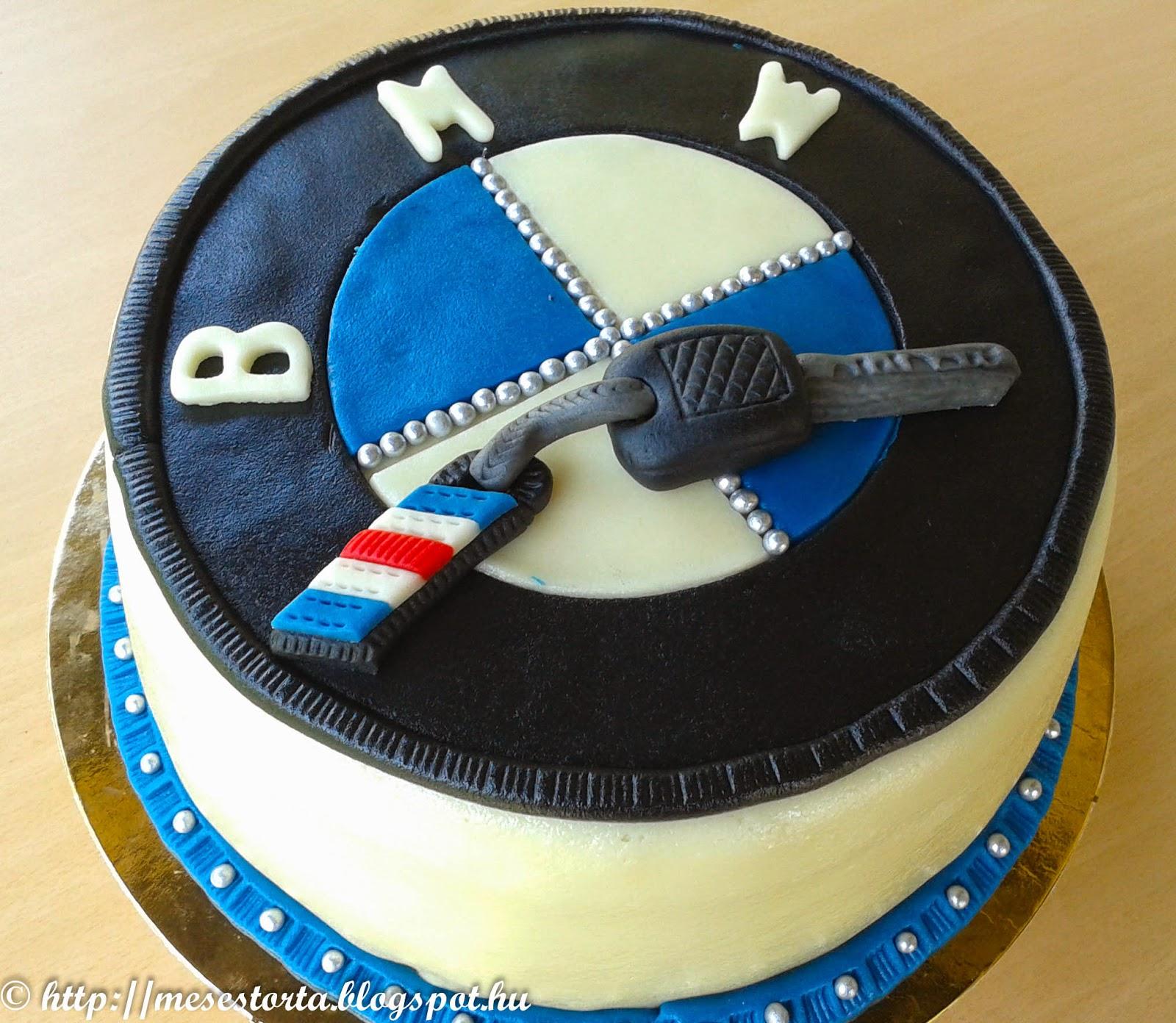 boldog születésnapot bmw Design tortakülönlegességek Gábor konyhájából: BMW 2.0 boldog születésnapot bmw