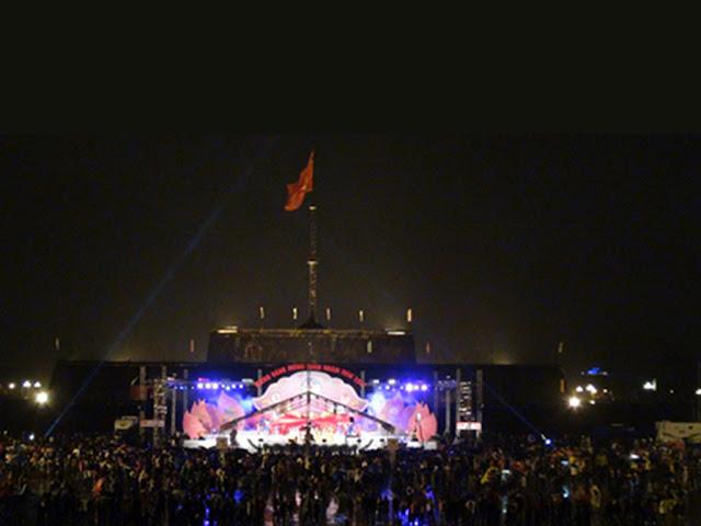 Celebracion del Tet en Hue