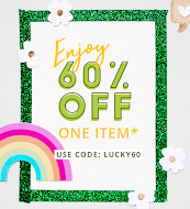 "Shop Blitsy and use code ""LUCKY60"""