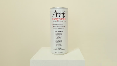 Art. First energy drink for the mind. Create for you by Klaus Guingand. © Klaus Guingand