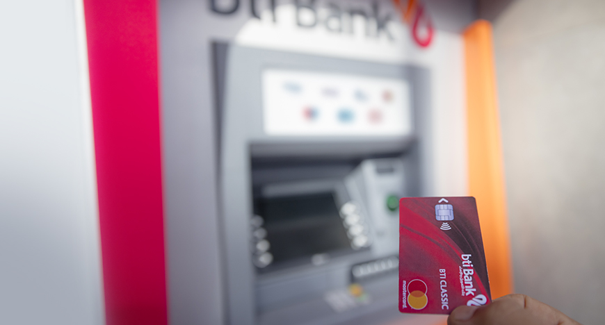 أنواع البطاقات البنكية لزبناء بنك التمويل والإنماء التشاركي