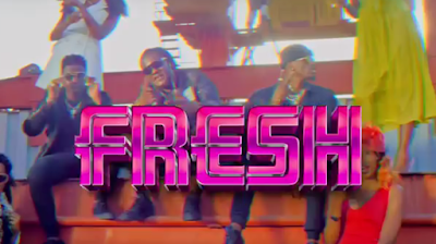 Video Fid Q Feat. Diamond Platnumz & Rayvanny - Fresh Remix