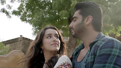 Shraddha Kapoor & Arjun Kapoor Gorgeous HD Image In Half Girlfriend Movie