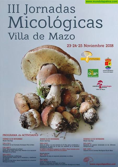 III Jornadas micológicas, en la Villa de Mazo