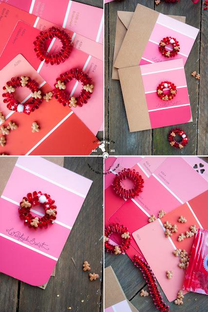 jak zrobić kartkę świąteczą tutorial kartka cardmaking ręcznie robiona wzornik kolorów