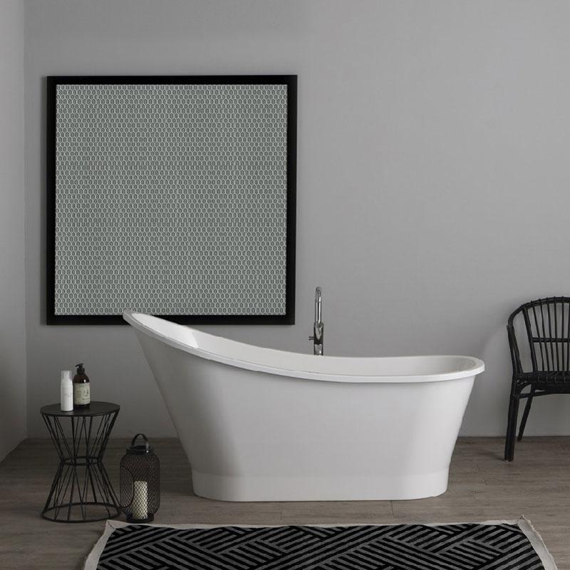 vasca da bagno freestanding piccola