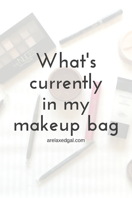 What's Currently in My Makeup Bag - arelaxedgal.com