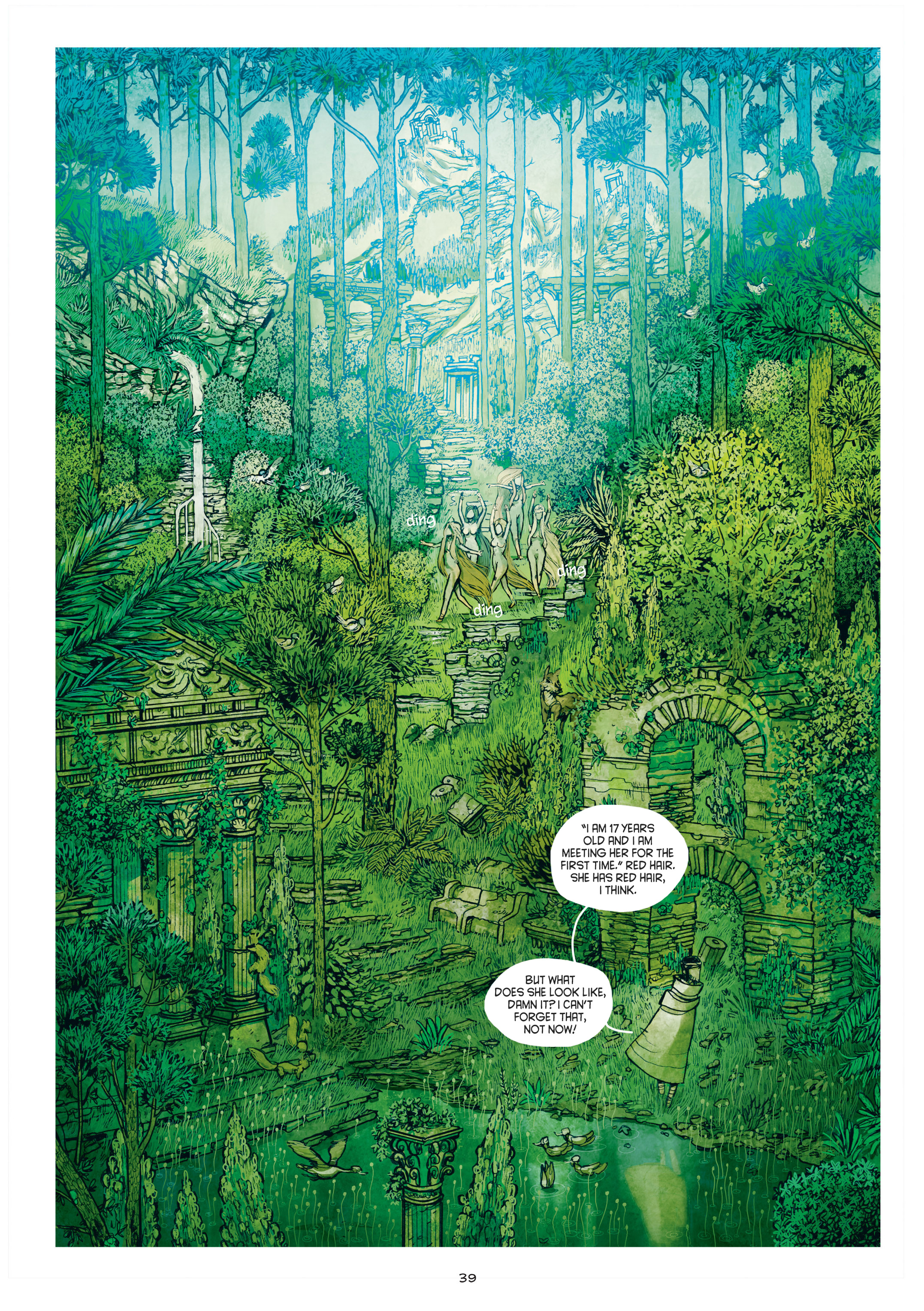 Read online Adrastée comic -  Issue #1 - 40